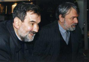 Na Sajmu knjiga sa Dragoslavom Pavlom Aksentijevićem