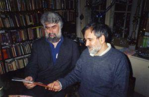 Sa kumom Ljubinkom Radenkovićem